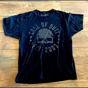 Call of Duty Timeline - T-Shirt - Size Large